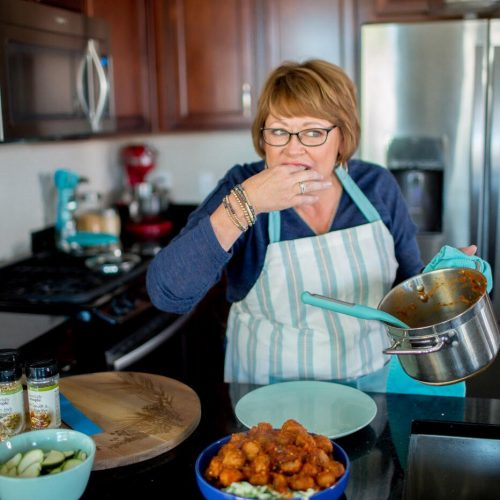 Cari Blake creating tasty and easy dinner recipes